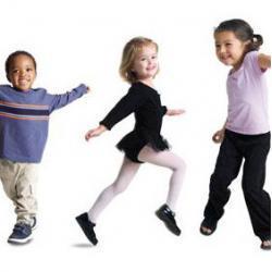 Cute Kids Dancing