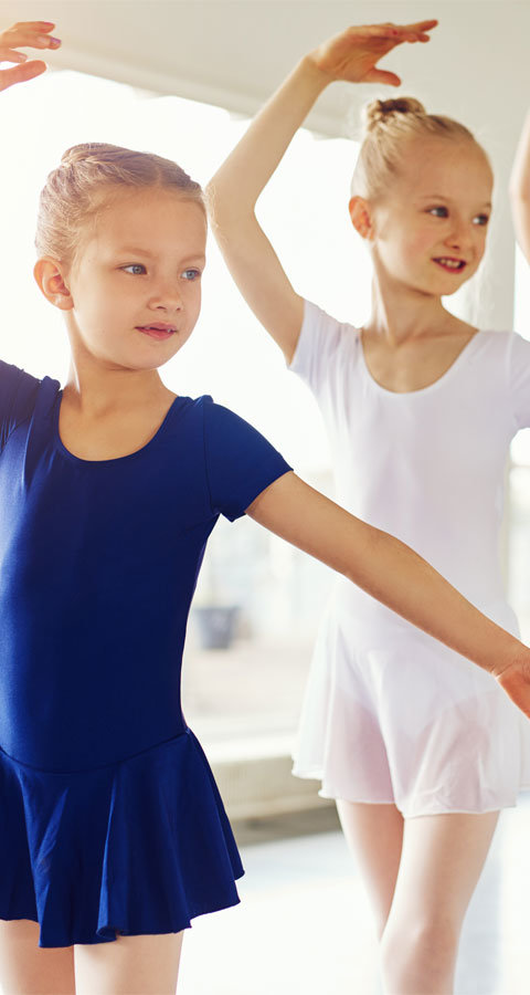 Ballet Kids Dance Courses - 3 different age groups