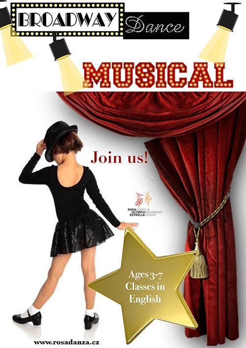 Broadway Musical Kids Dance Poster