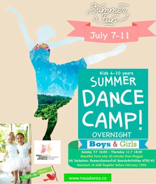 Overnight Dance Camp