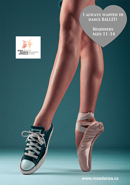 Ballet Poster for ages 11-14
