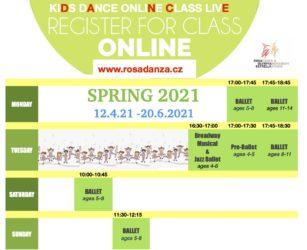 Kids Spring ONLINE 2021